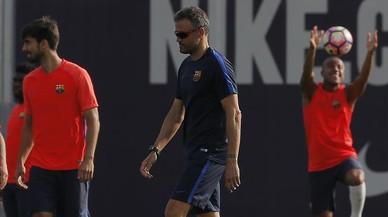 Messi, Iniesta i Mathieu, convocats davant l'Alabès