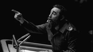Fidel Castro en la ONU, en 1979