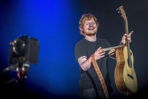 Ed Sheeran, en un concierto en el Sant Jordi Club de Barcelona