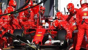 Ferrari funcionó como una piña en el GP de Australia