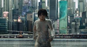 Scarlett Johansson, en Ghost in the shell.