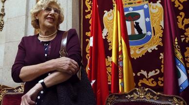 """Carmena: """"Els madrilenys estem disposats a consumir molts productes catalans"""""""