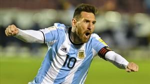 rpaniagua40494909 argentina s lionel messi celebrates after scoring against ec171011022735