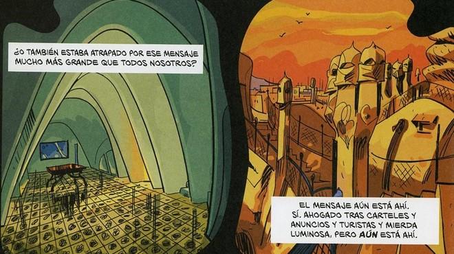 El Saló del Còmic corona Gaudí