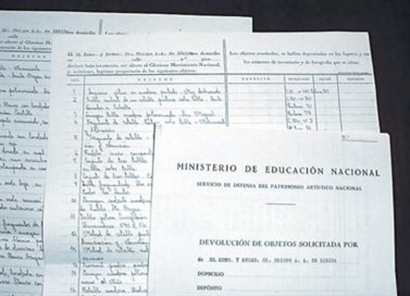 Lleida acredita la propiedad del arte sacro con papeles de 1943
