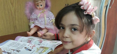 Bana Alabed, la ni�a que 'tuitea' contra la guerra desde Alepo