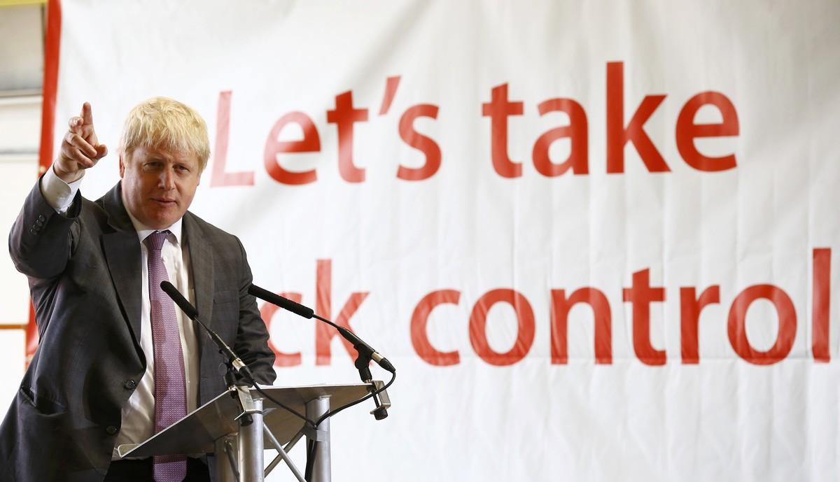 Boris Johnson compara el proyecto político de la UE con el de Hitler