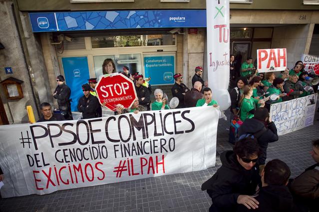 """La PAH considera """"insuficientes"""" las medidas del Gobierno"""