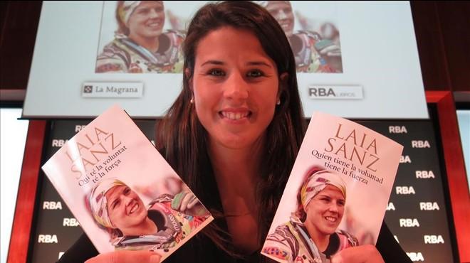 Laia Sanz, qui té la voluntat, té la força