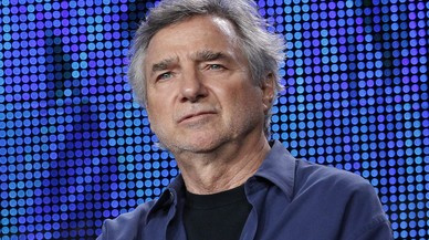 """File photo of Director Curtis Hanson participating in the HBO panel for the film """"Too Big to Fail"""" during the Television Critics Association winter press tour in Pasadena"""