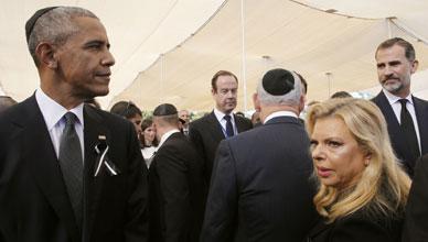 Dirigentes de todo el mundo dan el �ltimo adi�s a Shimon Peres