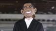 Desfilada de moda amb Obama, Clinton, Putin i Chapo Guzmán