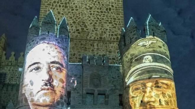 Imatges de Franco i Himmler protagonitzen un polèmic espectacle en les festes de Guadamur