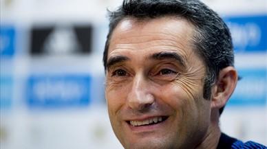 """Valverde: """"Dembélé és ràpid i profund, tenim moltes esperances en ell"""""""