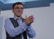 Juan Carlos Monedero, en una rueda de prensa en Madrid.