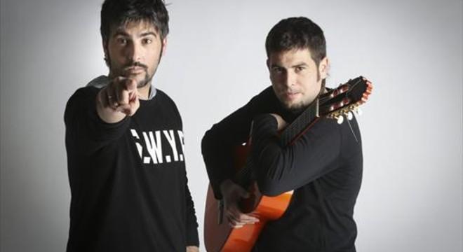 Los hermanos Mu�oz, Estopa, que llevar�n su gira'Rumba a lo desconocido' a Porta Ferrada.