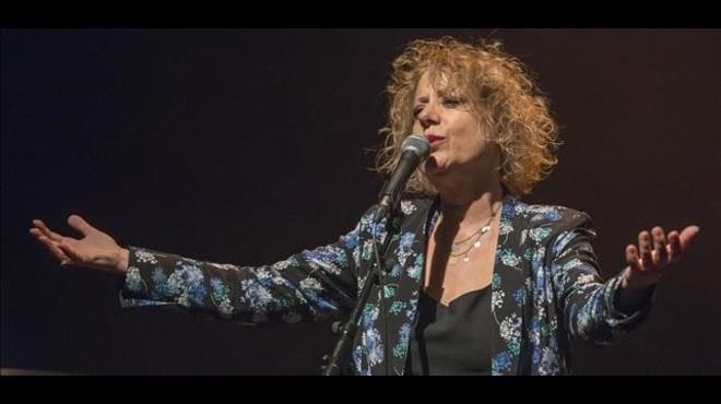 Marina Rossell en el Teatre Joventut de L'Hospitalet