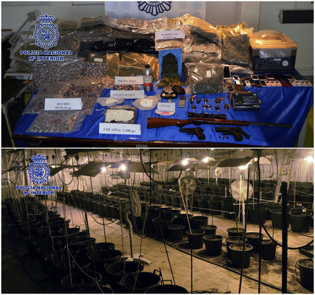 Golpe policial a una red de tráfico de drogas a gran escala