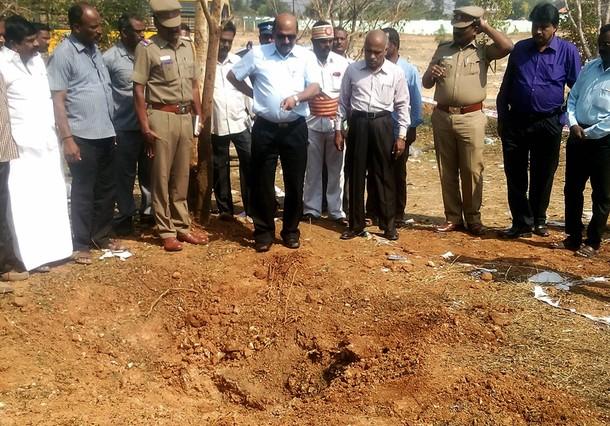 India investiga la posible muerte de un hombre a causa de un meteorito