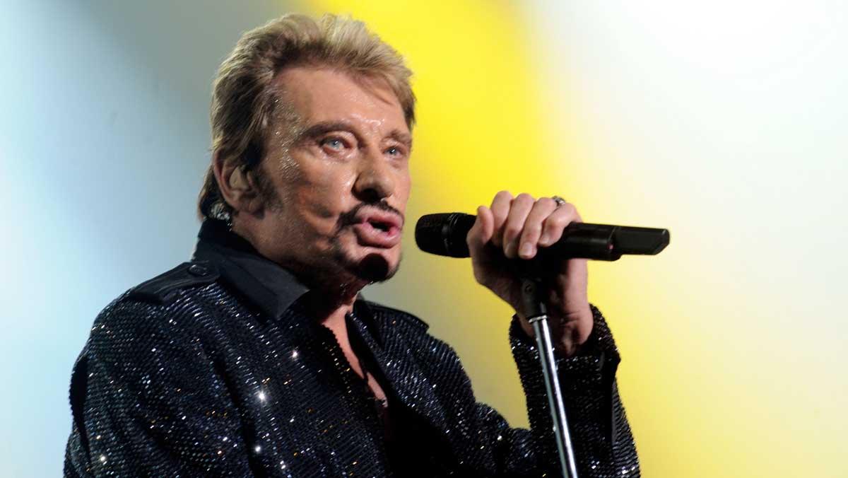 Mor el rocker francès Johnny Hallyday als 74 anys