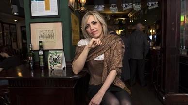 Norma Cano, en el pub Kitty's, promotor de la fiesta de San Patricio.