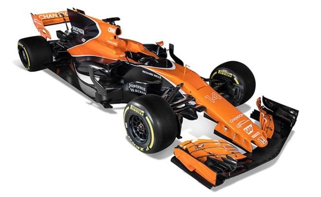 El nuevo McLaren Honda que conducirá Alonso.