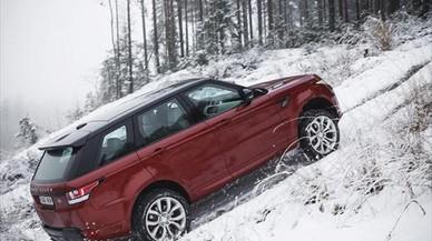 PUEDE CON TODO. Las prestaciones 'off-road' del Range Rover Sport no tienen nada que envidiar al Range normal.
