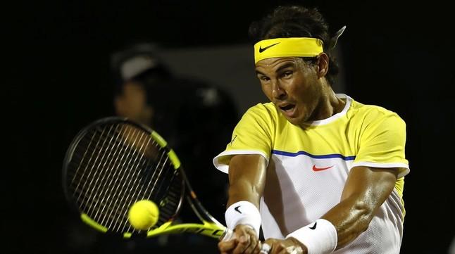 Rafa Nadal se estrena con victoria en Río