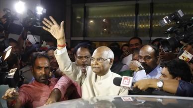 """Un """"intocable"""" elegido presidente de la India"""