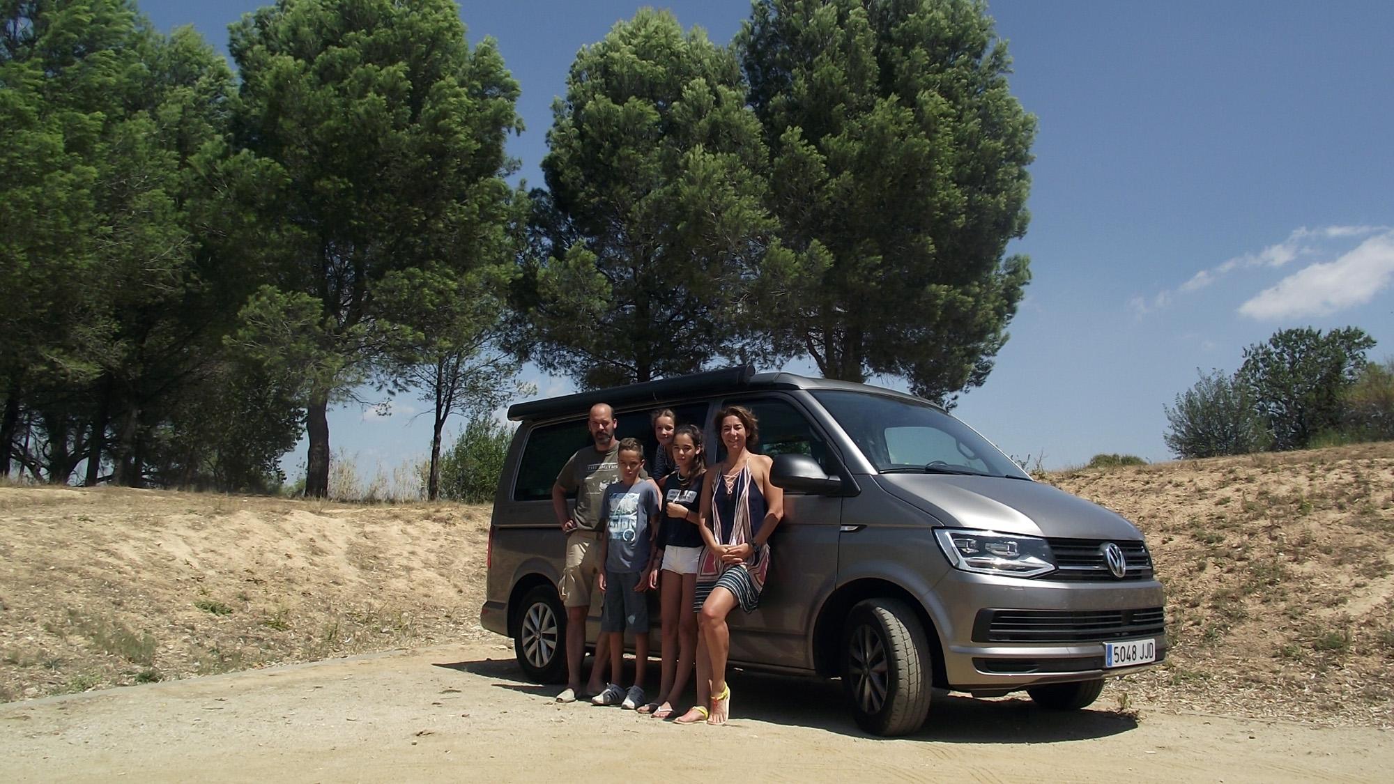 De ruta por el Norte, en familia, con la Volkswagen California