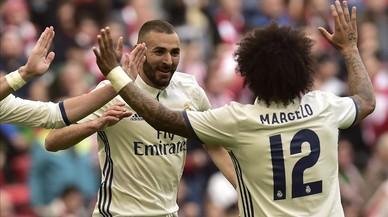 El Madrid resisteix davant un Athletic sense pólvora (1-2)