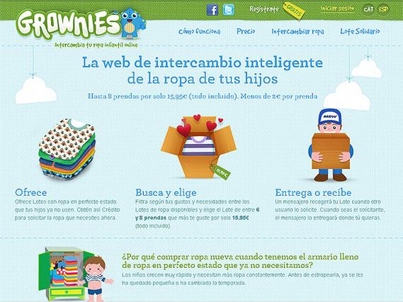 Una web facilita el intercambio de ropa infantil en toda España