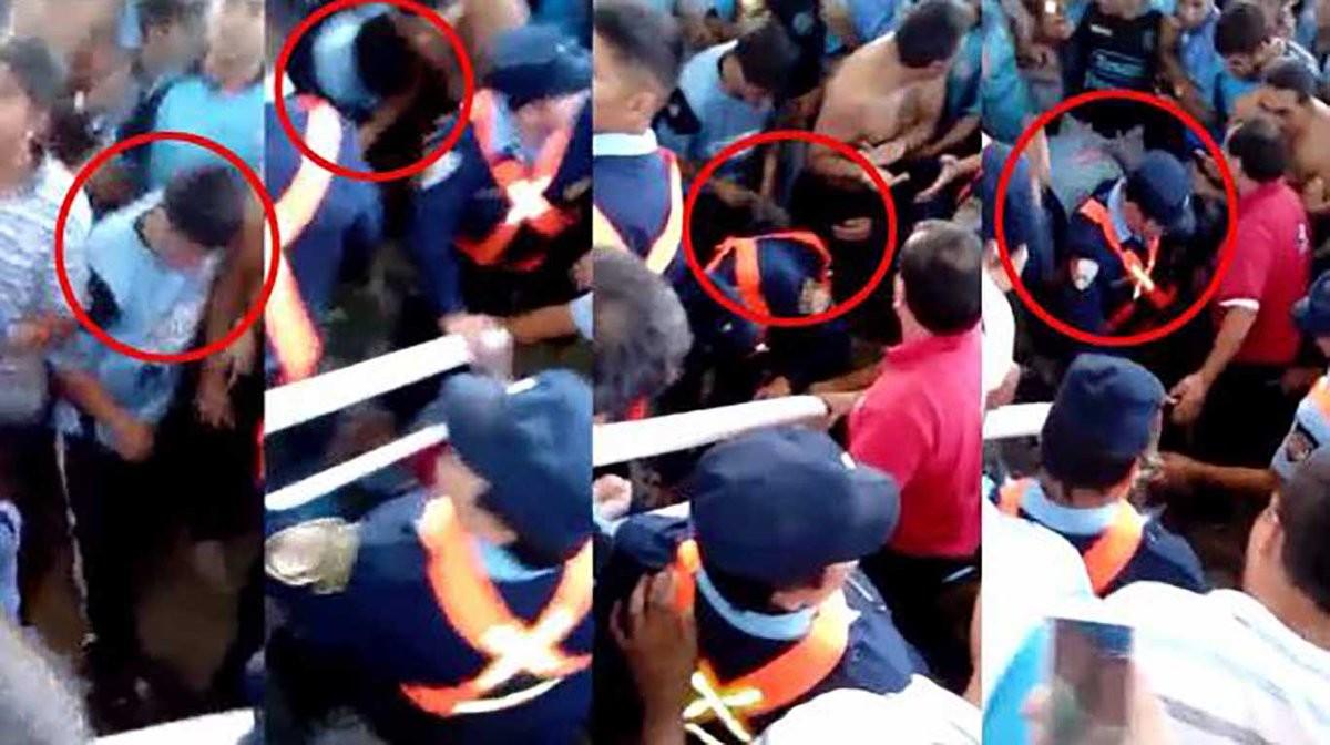 Detingut per robar les sabates al seguidor argentí que va morir