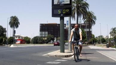 Onada de calor: rècord a Còrdova amb 46,8º