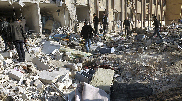 Destruido el minarete de la gran mezquita olmeya de alepo - Fotos de damasco ...