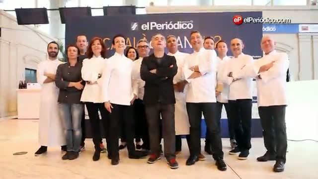 Los cocineros de la Elección de Català de lany.