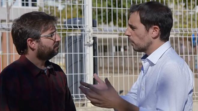 El alcalde de Castelldefels, Manuel Reyes, entrevistado por Jordi �vole en 'Salvados'