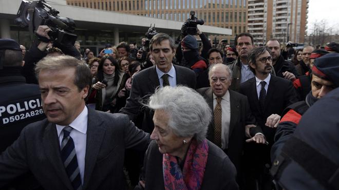 Jordi Pujol declara ante el juez