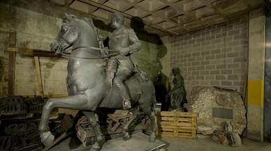 Nova i agra picabaralla per les estàtues franquistes del Born