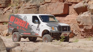 Nissan NV Cargo X, la furgoneta 4×4 más bestial