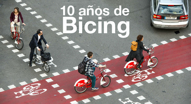 Bicing el albor de la nueva barcelona for Oficina bicing barcelona