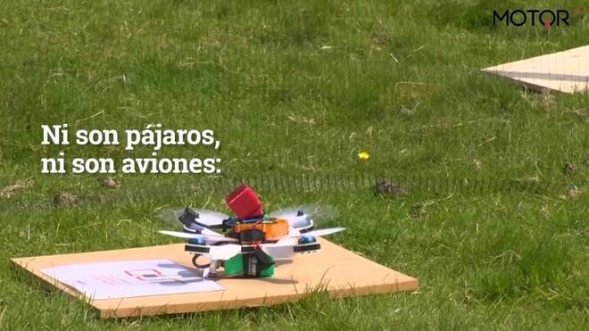 Carreras de drones, todo un espectáculo.
