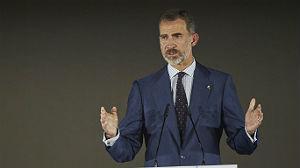 El rey Felipe llama a la unidad en el aniversario olímpico (ES)