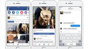 El servicio de compracenta de artículos de segunda mano Facebook Marketplace.
