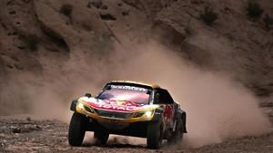Peterhansel, con problemas en el Dakar