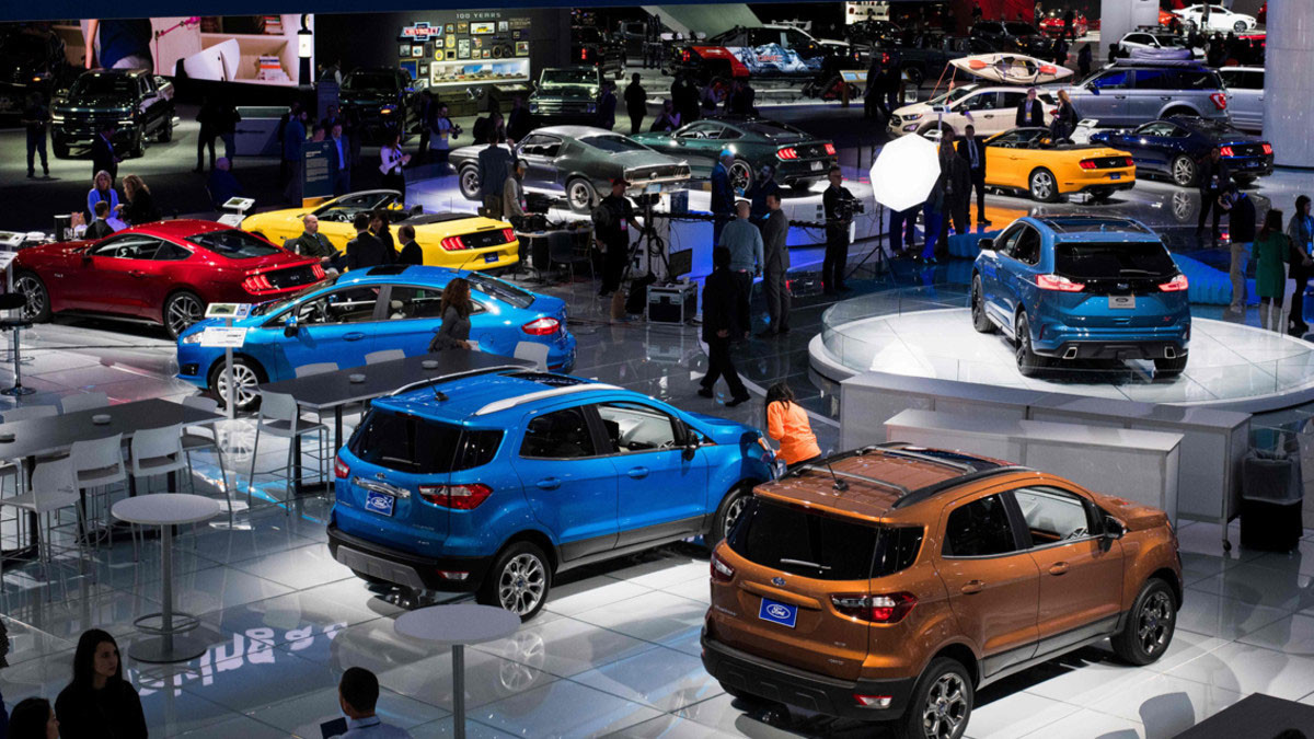 Motor - Estand de Ford en el NAIAS 2018