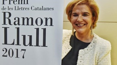 Pilar Rahola guanya el premi Ramon Llull