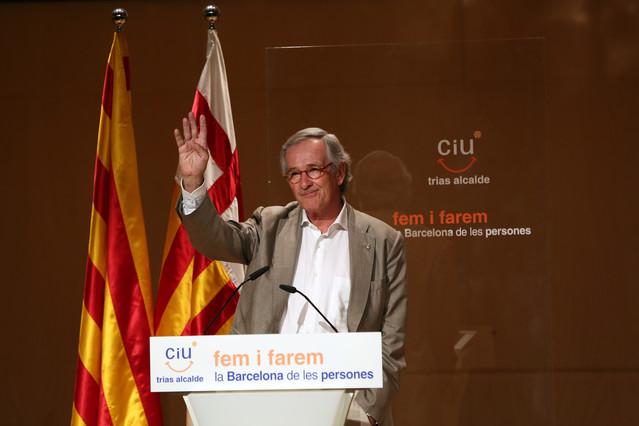 El seísmo en la izquierda y la caída de CiU sacuden el mapa de Barcelona
