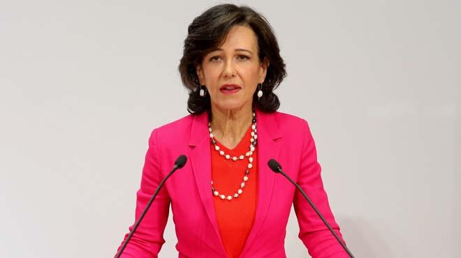 """Ana Botín: """"Aquesta operació posa de manifest el compromís del Santander amb el sistema financer"""""""