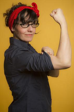 Sandra Uve, ilustradora y escritora.